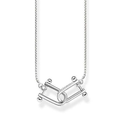 "Thomas Sabo TKE1807-637-21 L45V Sterling Silver Necklace ""Iconic"""