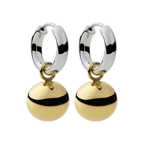 Najo E5102 Shayla Earring Yellow/Silver