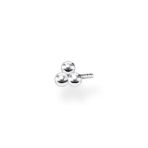 Thomas Sabo TH2140 Sterling Silver Ear Stud 'Dots' (SINGLE)