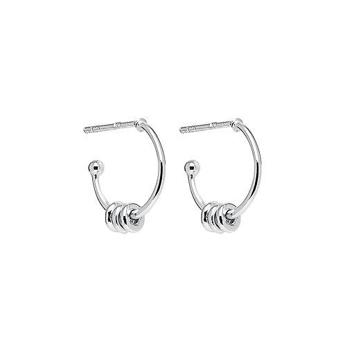 Najo E6240 Blameless Earring Silver
