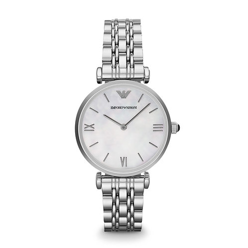 Emporio Armani AR1682 Ladies Classic Mother-of-Pearl Watch