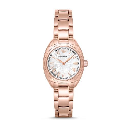 Emporio Armani AR11038 Ladies Classic Rose-Tone Watch
