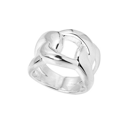 Najo R6432M Generosity Ring Silver