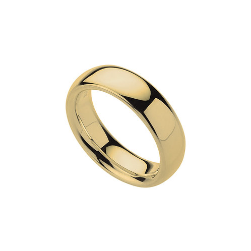 Najo R5442S Comfort Band Ring Yellow