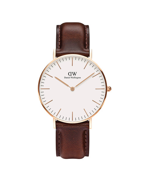Daniel Wellington Classic Bristol Rose 36mm White