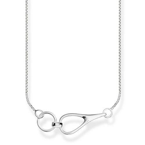 """Thomas Sabo KE1855-001-21 L45V Sterling Silver Necklace """"Heritage"""""""