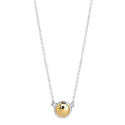 Najo N5910 Golden Glimmer Necklace Silver/Yellow