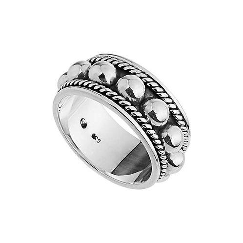 Najo R5268M Nightfall Ring Silver