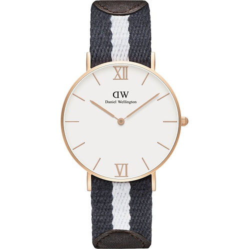 Daniel Wellington 0552DW Grace Glasgow Rose 36mm White