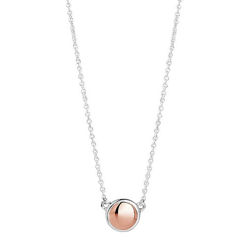Najo N5909 Rosy Glimmer Necklace Silver/Rose