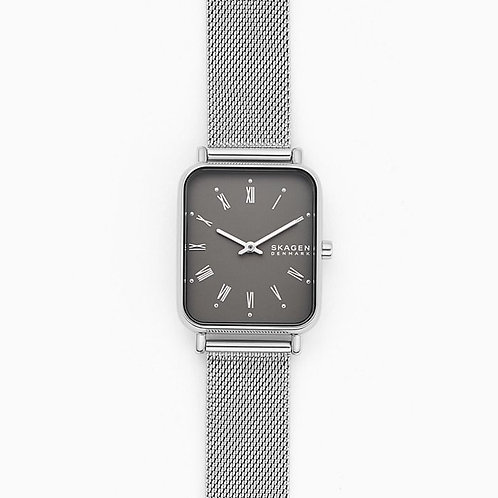 SKW2873 Ryle Two-Hand Silver-Tone Steel-Mesh Watch