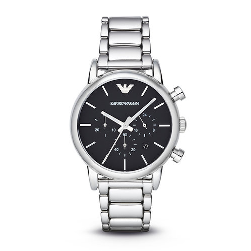Emporio Armani AR1853 Men's Classic Stainless Steel Watch