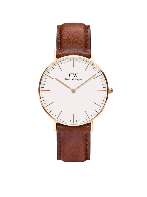 Daniel Wellington Classic St Mawes Rose 36mm White