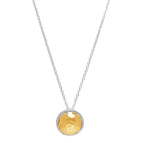 Najo N5918 Grand Golden Glow Necklace Silver/Yellow