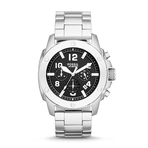 Fossil FS4926 Modern Machine Stainless Steel Watch