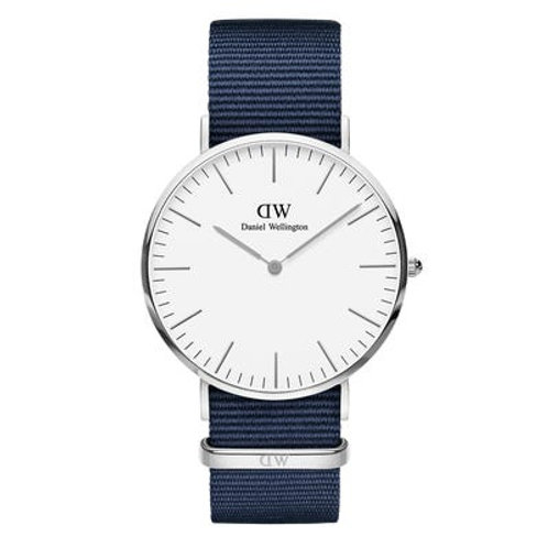 Daniel Wellington DW00100276 Classic Bayswater Silver 40mm White