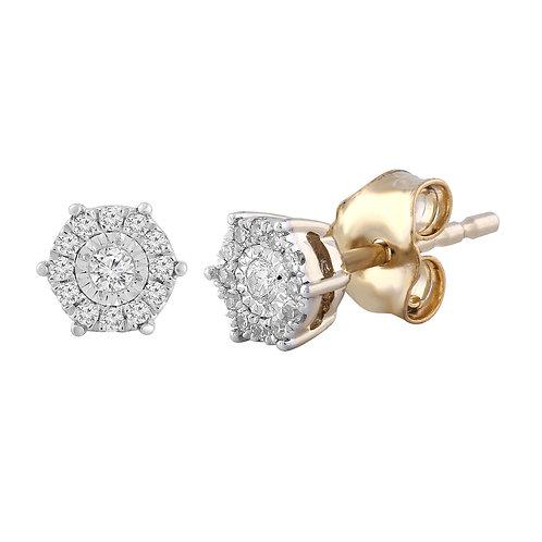 IGE-13160 - 9ct Diamond Studs