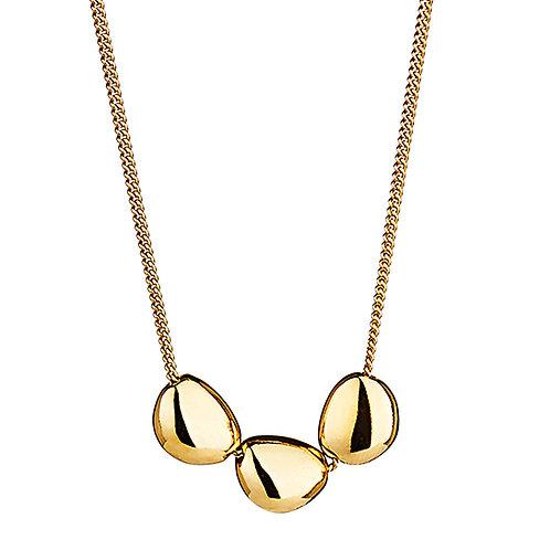 Najo N6085 Piedra Yellow Short Triple Necklace