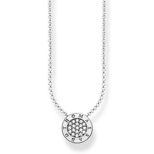 Thomas Sabo KE1493-051-14 L45V Sterling Silver Cubic Zirconia Set Necklace