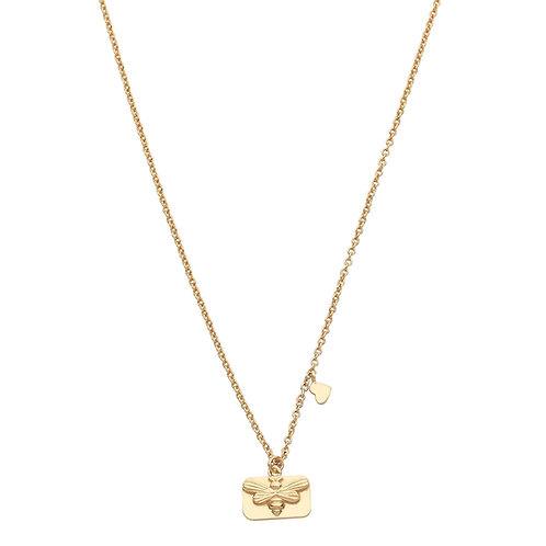 Pastiche J1105YG-40 Bee Necklace Yellow