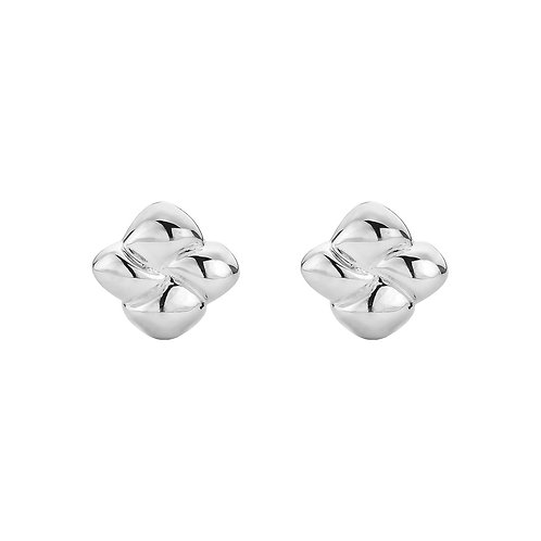 Najo E5242 La Luna Little Weave Stud Earring