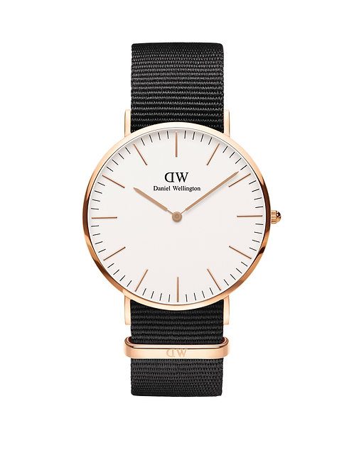 Daniel Wellington DW00100257 Classic Cornwall Rose 40mm White
