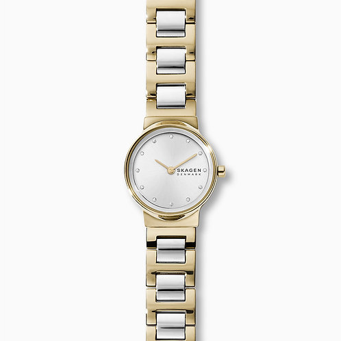 Skagen SKW2790 Freja Two-Tone Steel-Link Watch