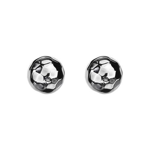 Najo E5375 Beaten Ball Stud Earring