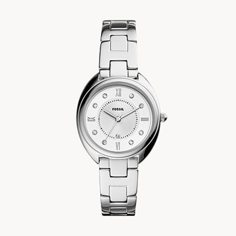 Fossil ES5069 Gabby Three-Hand Date Stainless Steel Watch