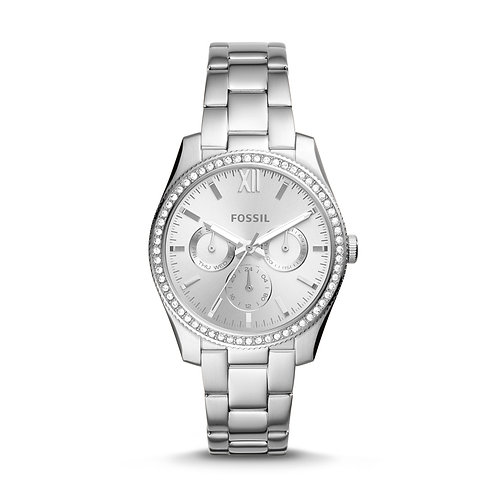 Fossil ES4314 Scarlette Three-Hand Stainless Steel Watch