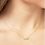 Thumbnail: Pastiche J1134YGCZ Starlit Sky Necklace Yellow