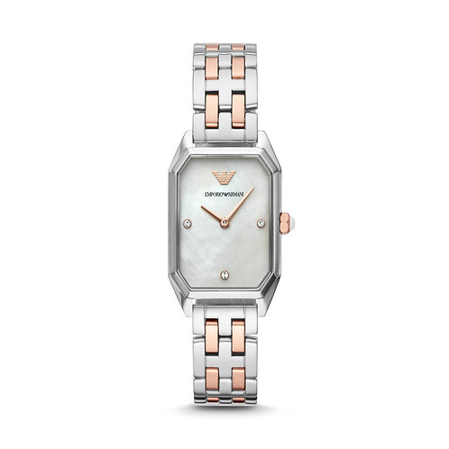 Emporio Armani AR11146 Ladies Two-Tone Stainless Steel Watch