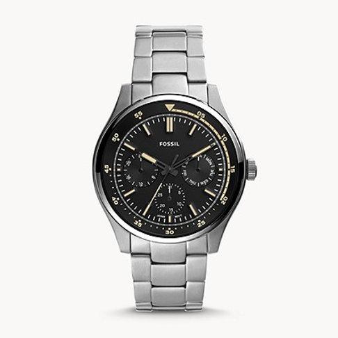 Fossil FS5575 Belmar Multifunction Stainless Steel Watch