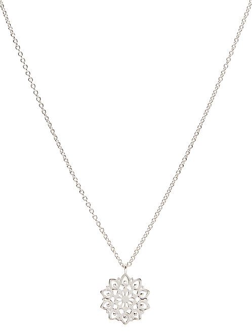Pastiche J1135-45 Evening Song Necklace Silver