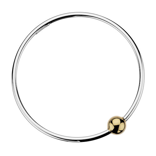 Najo B5326 Shine Bangle Silver/yellow