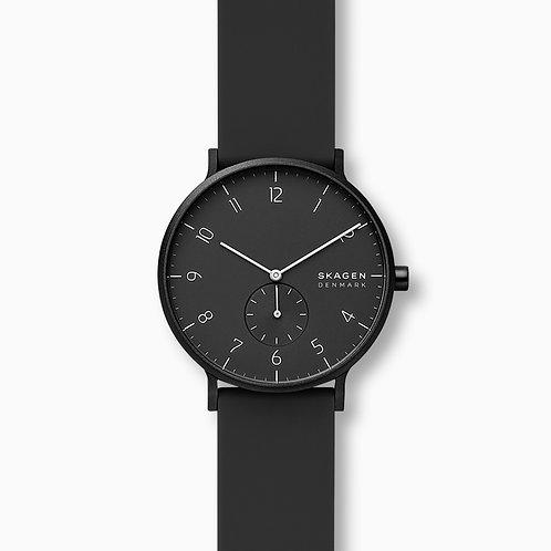 Skagen SKW6544 Aaren Kulor Black Silicone 41mm Watch