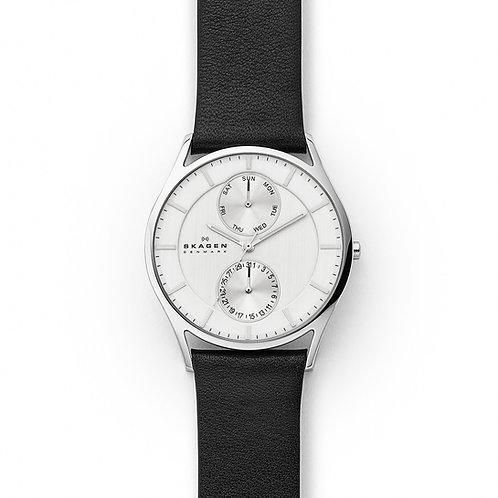 Skagen SKW6605 Holst Multifunction Leather Watch