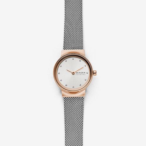 Skagen SKW2716 Freja Two-Tone Steel-Mesh Watch
