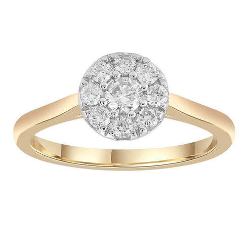 R-37371 - 9ct Diamond Ring