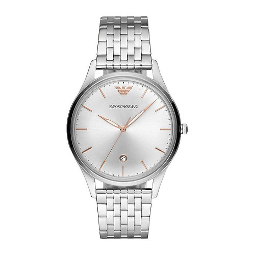 Emporio Armani AR11285 Men's Three-Hand Date Stainless Steel Watch