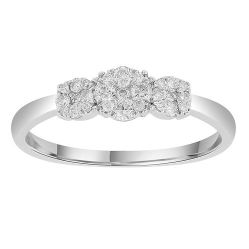 IGR-37905 - 9ct White Gold Diamond Ring