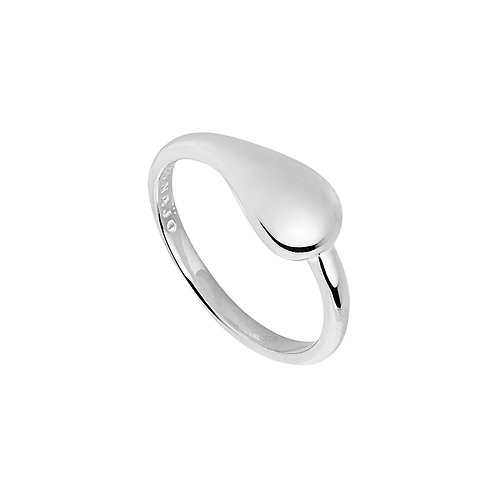 Najo R6217M Weeping Willow Ring Silver
