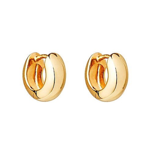 Najo E6140 Dora Yellow Huggie Earring