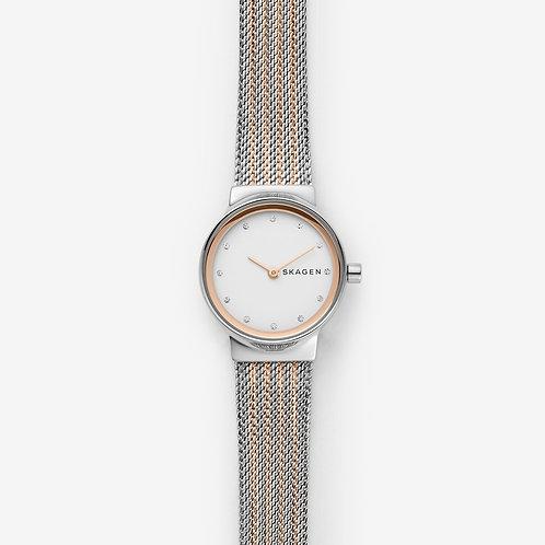 Skagen SKW2699 Freja Two-Tone Steel-Mesh Watch