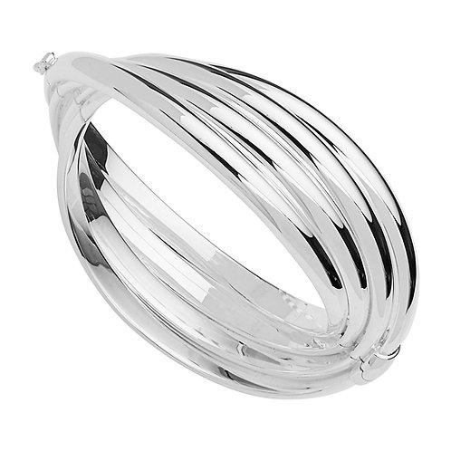 Najo B6344 Calypso Cuff Silver