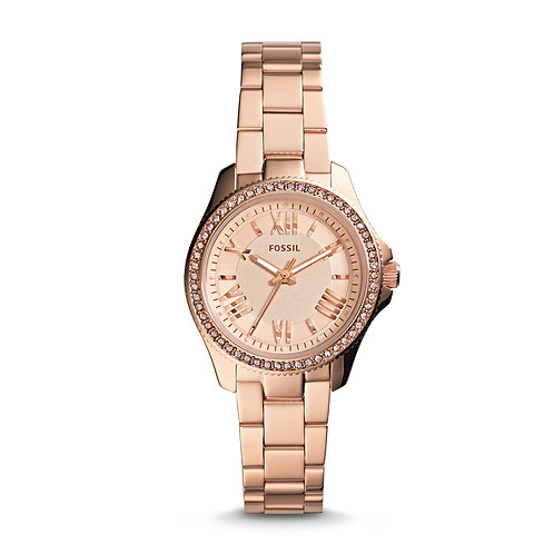 Fossil AM4578 Cecile Small Rose Gold-Tone Watch