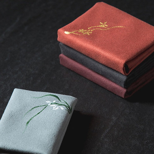 Embroidered Tea Ceremony Cloths