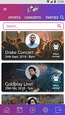 App event console