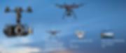 Cámara BlackMagic en drone