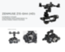Panasonic Lumix GH4 en drone